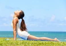 Some executive retreats focus on stress-reducing activities like yoga and meditation.