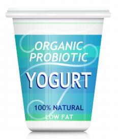Probiotic yogurt can help prevent yeast infections.