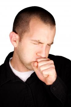 A bronchial cough is accompanied by a tight or painful feeling in the chest.