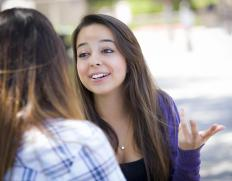 Social skills are honed during the teen years.
