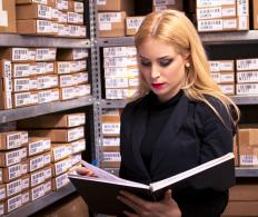 Average inventory calculations can be used to determine if a change should be made to ordering practices.