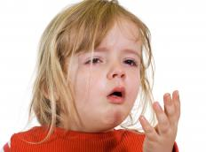A doctor should be consulted prior to giving a young child cough expectorant syrup.