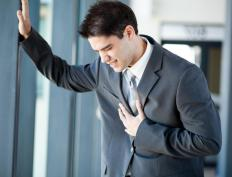 Stress and anxiety can lead to heartburn pain.