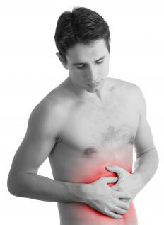 Stomach pain is an early symptom of starvation.