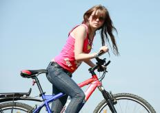 College students may enjoy cycling as a form of cardiovascular exercise.