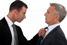 E-venge can be motivated by real world events, as in the case of an abusive boss.
