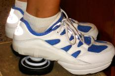 Springs added to the heel act as shock absorbers in Z-Coil® shoes.