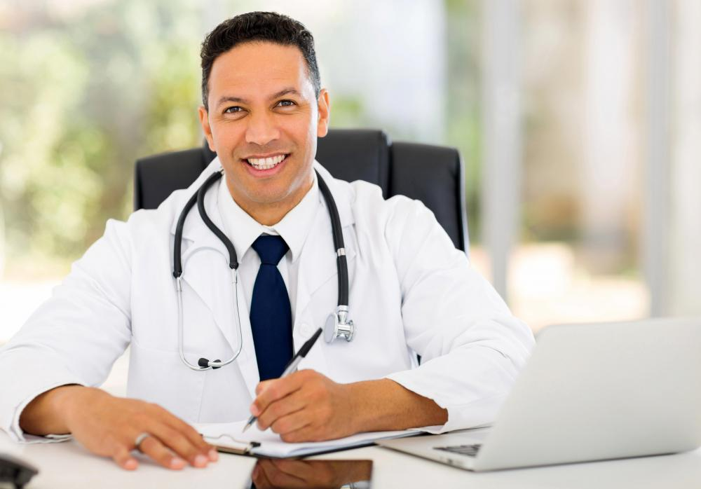 Practices are being established for physicians in some specialities to monitor and treat patients using an Internet connection.
