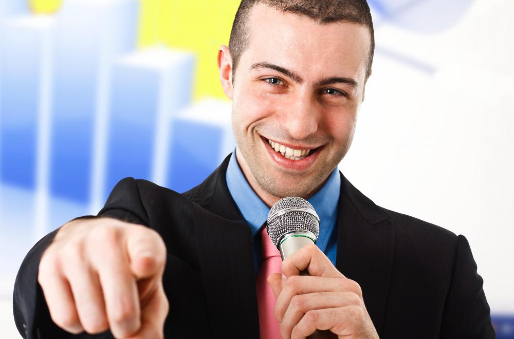 The role of motivational sales speakers is to encourage sales associates to perform better.