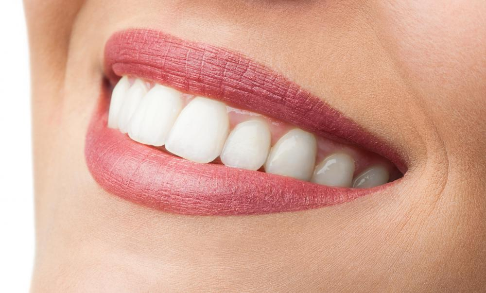 Cosmetic whitening products are not just confined to the skin, but can be used to whiten teeth as well.