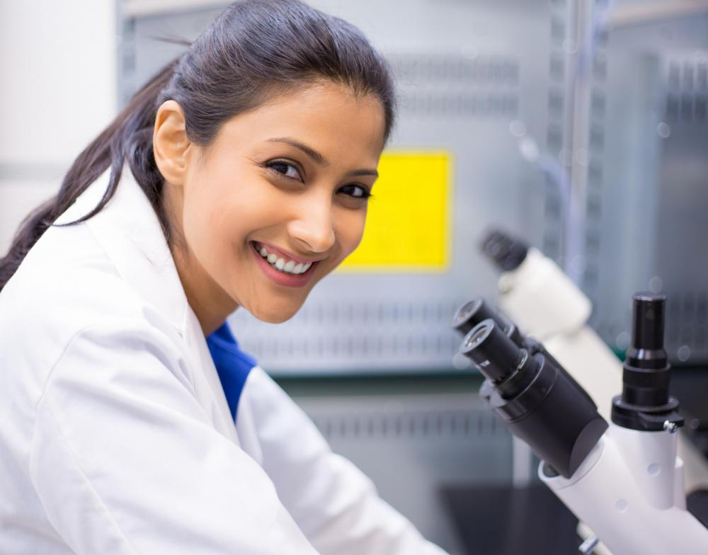 Many research technicians begin their careers as general lab assistants before deciding on a speciality.