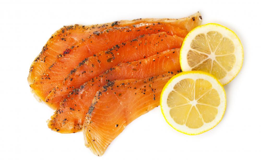 Traditionally, most salmon is cold smoked.