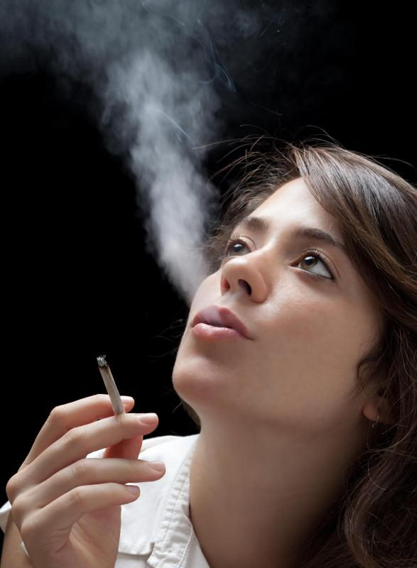 Cigarette smoke inhalation can exacerbate symptoms.