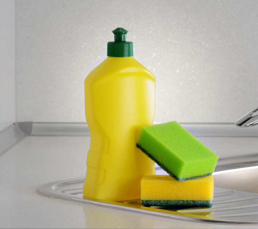 What are some mild soaps for cleaning?