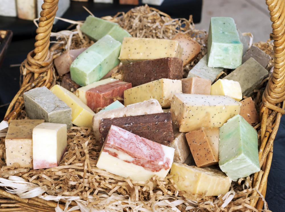 Most oil-free soaps contain natural oils, since it is impossible to make soap without fat.