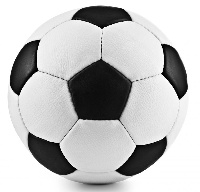 Buckminsterfullerene, an allotrope of carbon, is the same shape as a soccer ball.