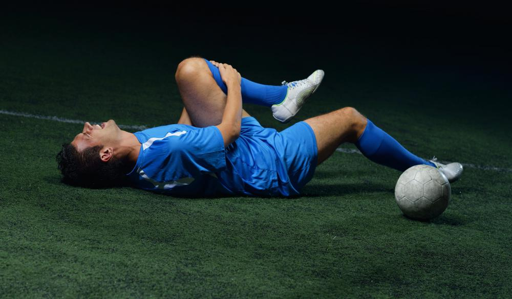 A proper fitness routine can help a soccer player prevent an injury.