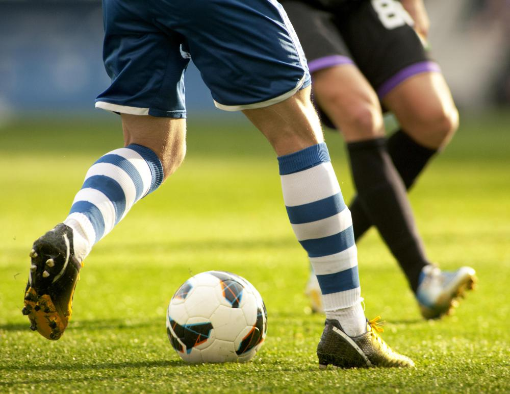 Beta blockers may be a disadvantage in sports like soccer.