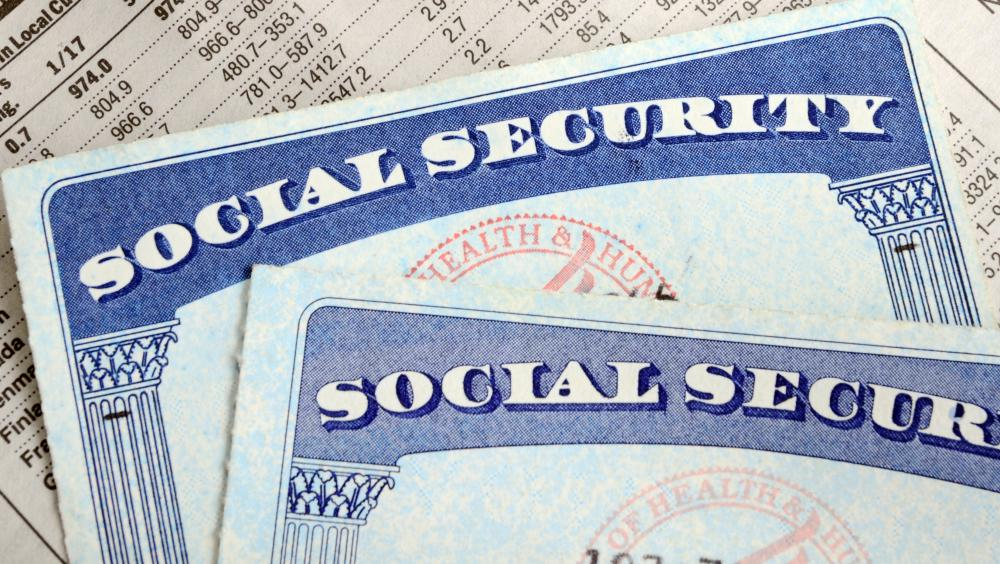 Social Security numbers may be the target of a data security breach.