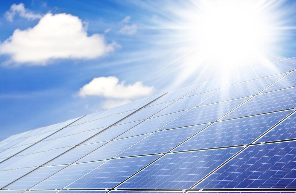 Solar power is a very popular renewable energy.