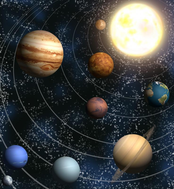 What is a Gravitational Field? (with pictures)