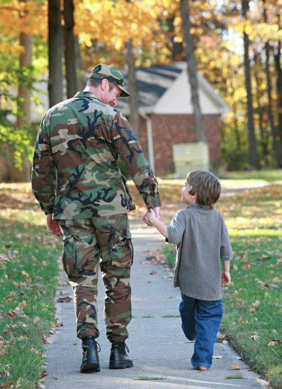 A family life consultant may help soldiers reintegrate into the family upon returning home.