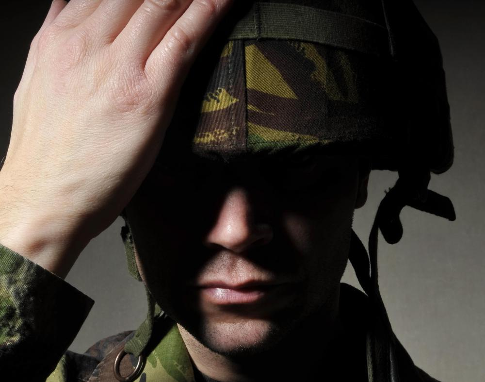 Some soldiers have a genetic predisposition toward PTSD.