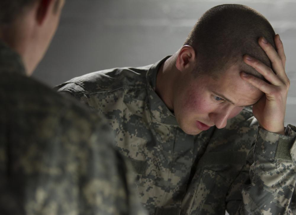 PTSD sufferers often relive traumatic experiences.
