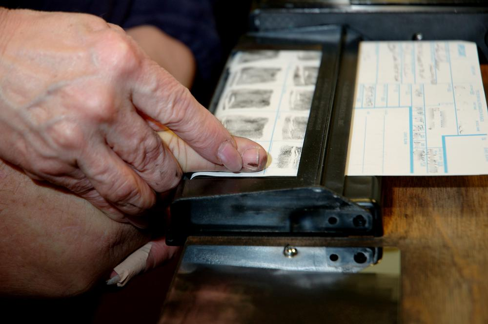 Fingerprinting is often a mandatory procedure.