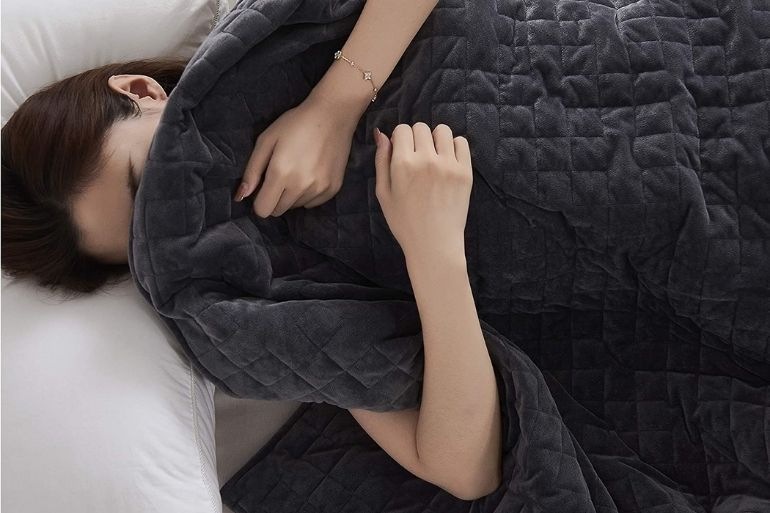 weighted blankets for restful sleep
