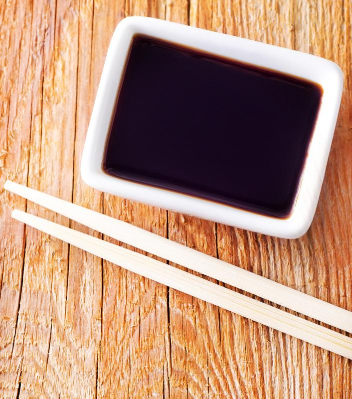Asian dipping sauces usually contain soy sauce.