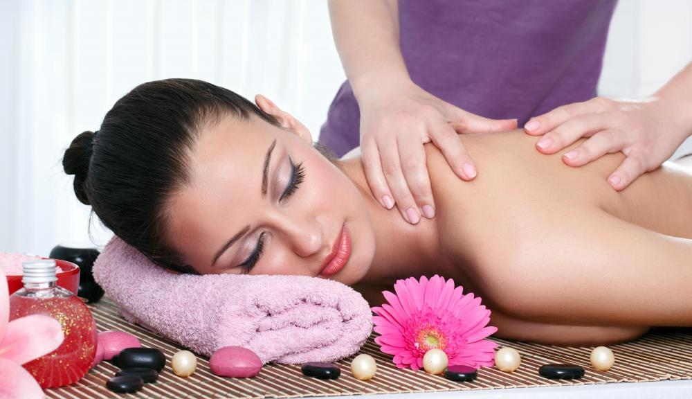 Spa weekends may include massages.