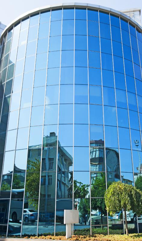 What Is Spandrel Glass With Pictures