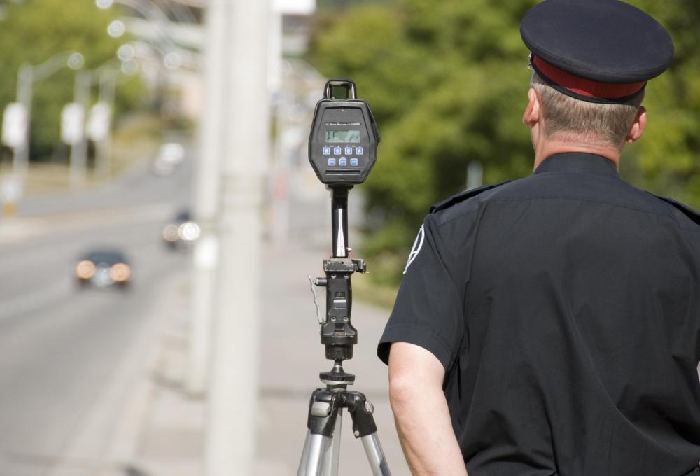 Speed traps are typically set up where motorists are most likely to speed.