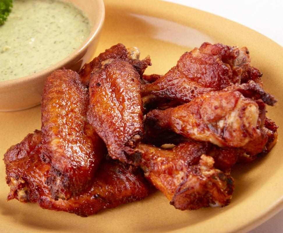 Hot and spicy chicken wings are a popular Crock-Pot® appetizers.