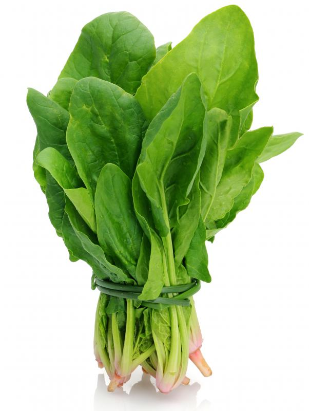Spinach is rich in coenzyme q10.