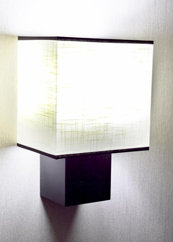 Mood lamps may be used to illuminate certain areas of a room.