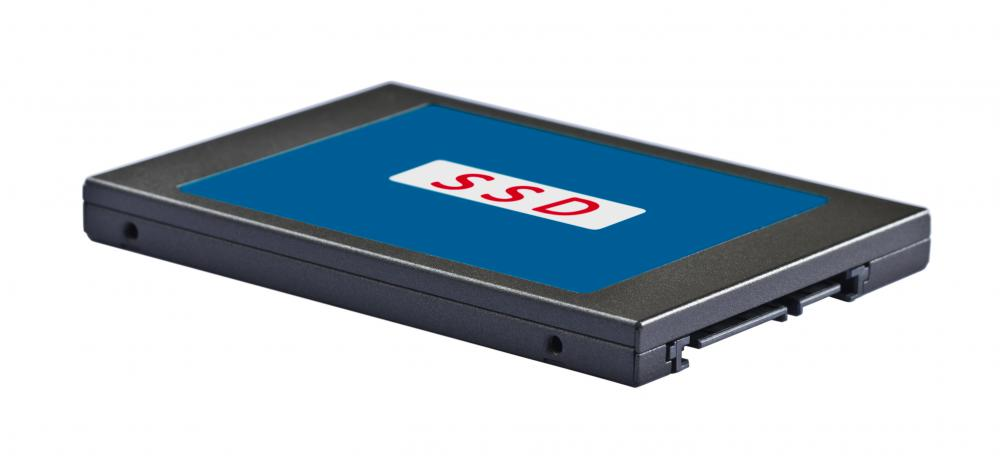 A SSD, which can help a computer boot faster.