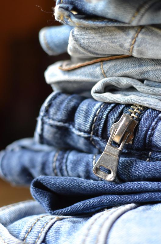 Denim can typically be folded instead of ironed.