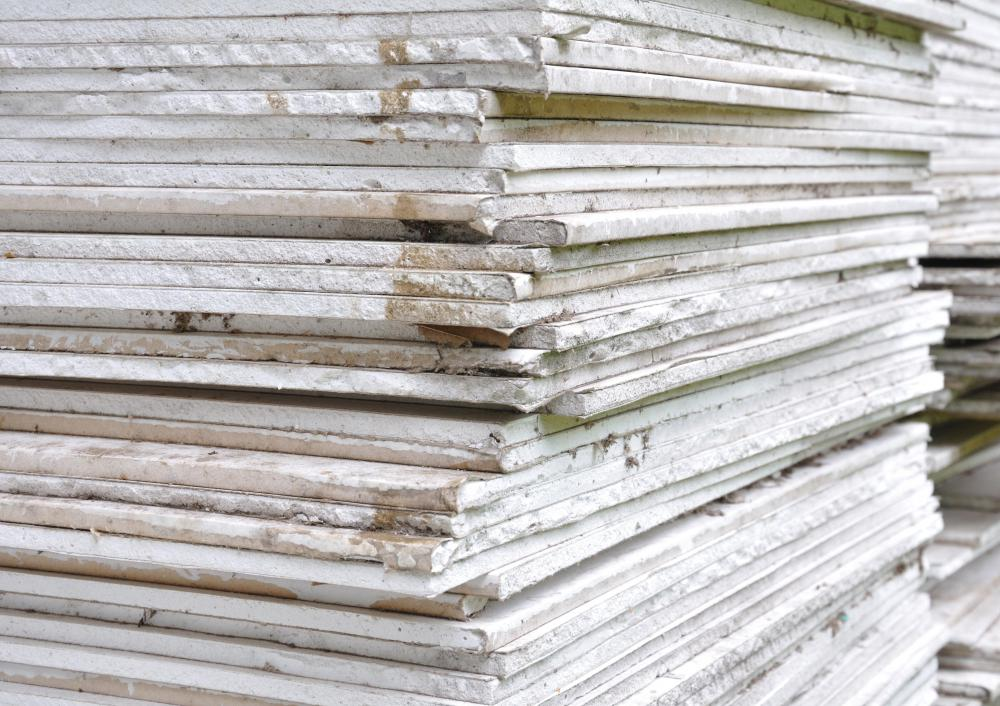 Drywall is available in many sizes.