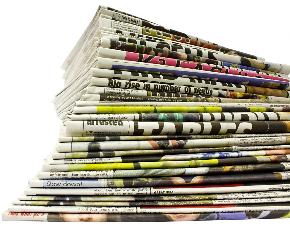 Media planners have to work to get their client's message into different outlets such as newspapers.