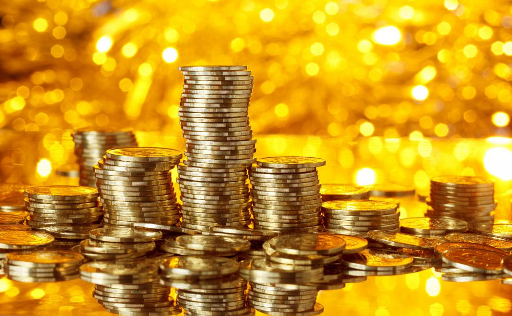 Gold coins are a collateral asset that might be used to secure a loan.
