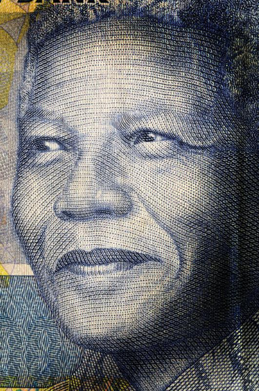 South African Nelson Mandela was awarded the Nobel Peace Prize.