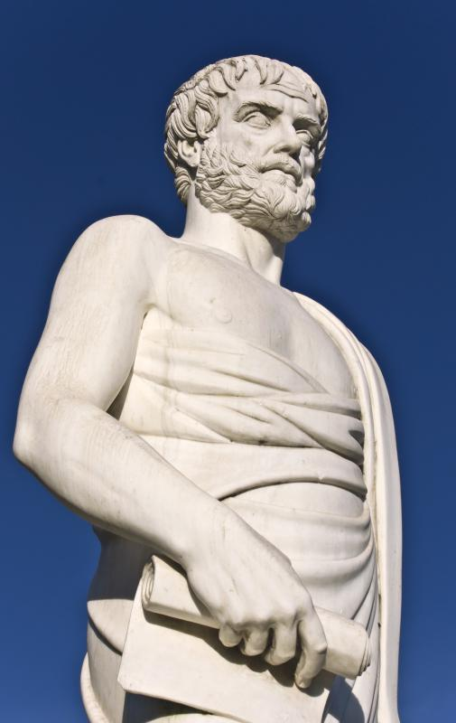 The Greek philosopher Aristotle defined rhetoric as the use of speech to make a listener agree with a particular viewpoint.
