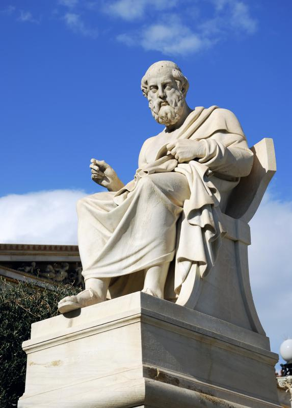 "Plato gave rise to the term ""academia"" through his ""Academy"" of learning."