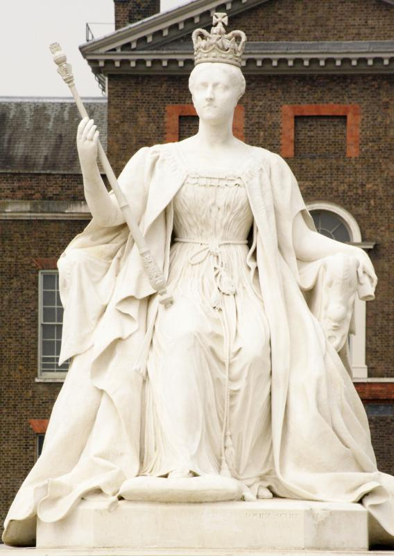 Members of royal families are often depicted in sculpture.