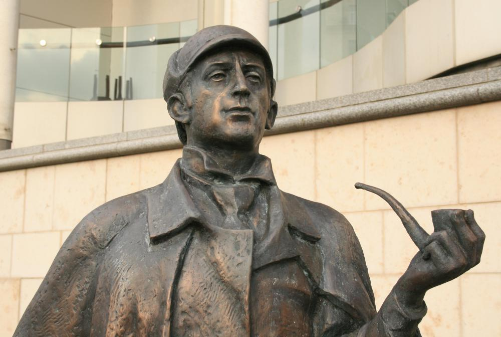 Sherlock Holmes is featured in some of the most famous detective stories.