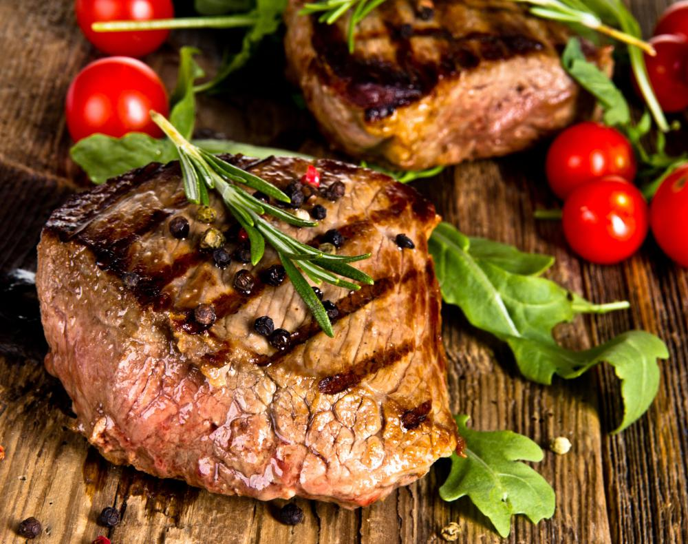 Steak houses often have a signature cut of beef or cooking method.