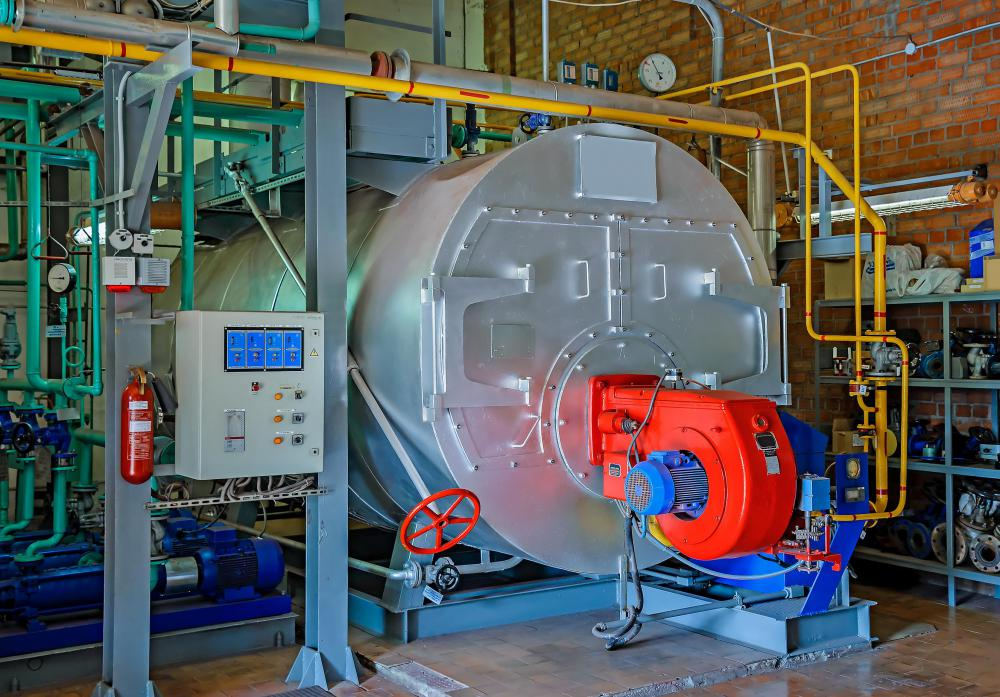 Steam, often used to heat buildings using steam boilers, is a type of latent heat.