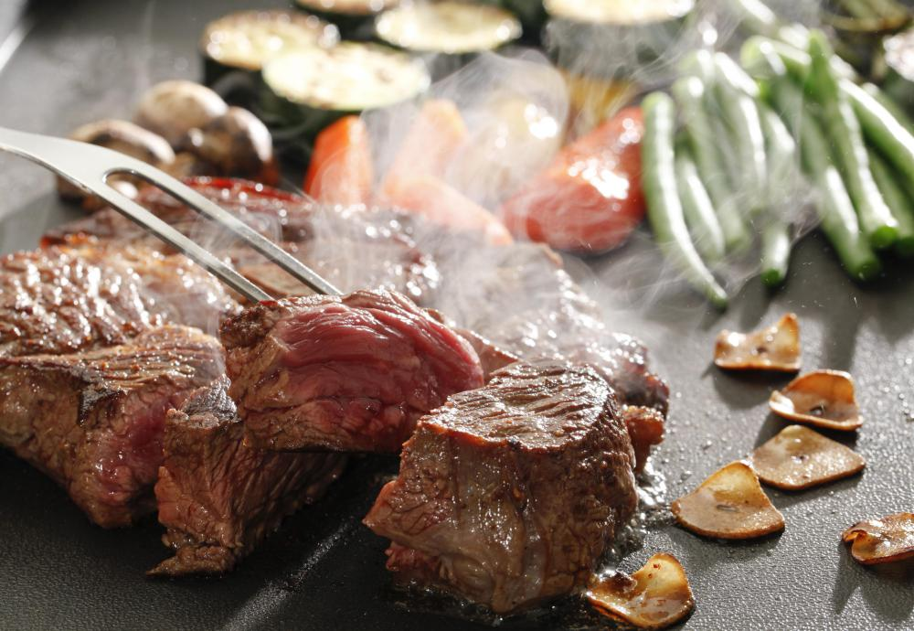 A diet that is high in meat may cause elevated creatinine levels.